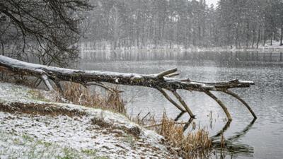 Śnieg spadł w Polsce w maju
