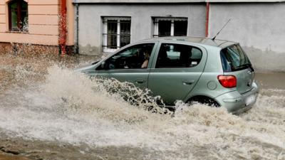Skutki ulew i burz w Polsce - zalania i podtopienia