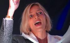 Anja Rubik protestowała pod Sejmem. Modelka jest wściekła na PiS