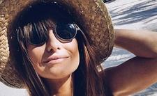 Lewandowska wystawia pośladki na słońce. Słoneczny patrol wysiada