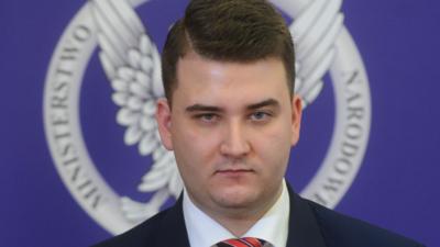 Bartłomiej Misiewicz produkuje wódkę