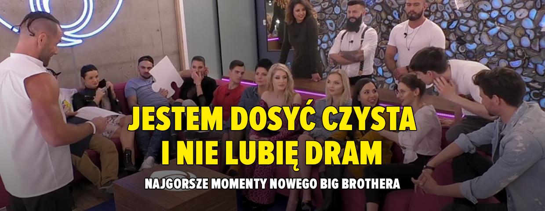 Najlepsze cytaty pierwszego odcinka Big Brothera