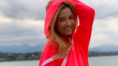 Joanna Koroniewska pozuje bez makijażu