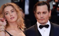Johny Deep i Amber Heard.Para wzięła rozwód w 2017 roku