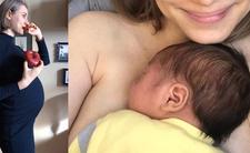 Julia Rosnowska urodziła synka