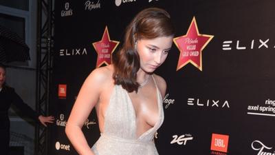 Julia Wieniawa w ryzykownej sukni. Odkryła wszystko, co za widok