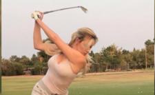 Piersi i ich golfistka na Instagramie