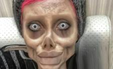 """""""Angelina Jolie"""" aresztowana. Zombie celebrytka wkurzyła władze"""