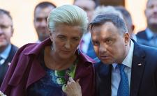 Agata Duda zaktywizowała się przed wyborami. Zabrała głos w Niemczech