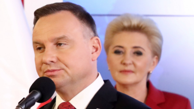 Andrzej Duda boi się o rodzinę