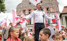 Andrzej Duda w Stargardzie. Nazwali go obrońcą pedofilów
