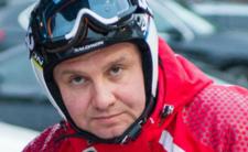 Andrzej Duda wraca na narty