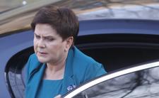 Beata Szydło miała wypadek. Policja sprawdzała poziom alkoholu