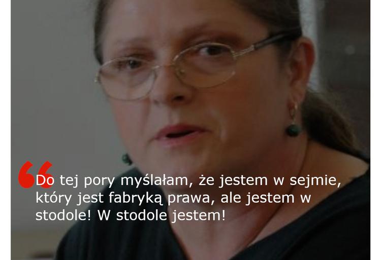 Krystyna Pawłowicz o Sejmie
