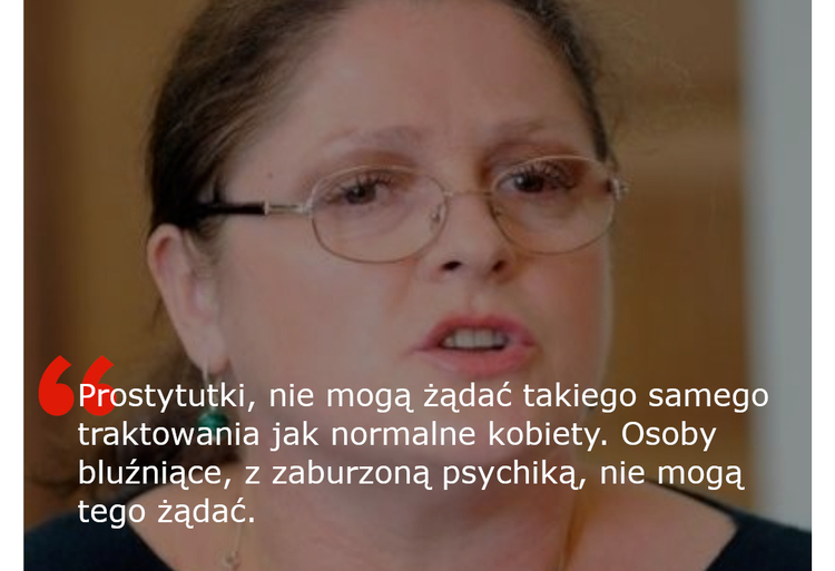 Krystyna Pawłowicz wypowiedź