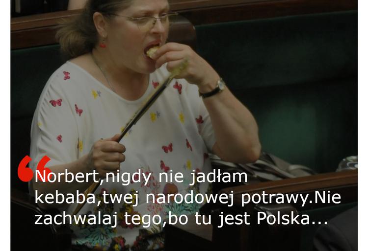 Pawłowicz nie lubi kebabów