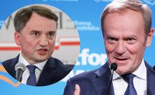 Zbigniew Ziobro się wściekł i grozi Donaldowi Tuskowi