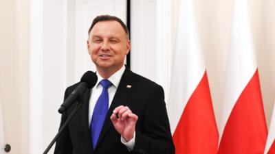 Andrzej Duda oskarża Ukraińców