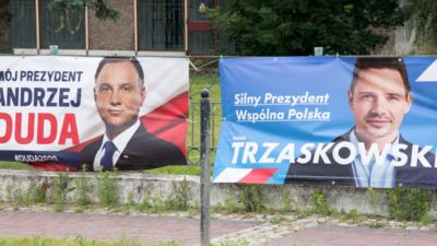 II tura wyborów - Rafał Trzaskowski czy Andrzej Duda?