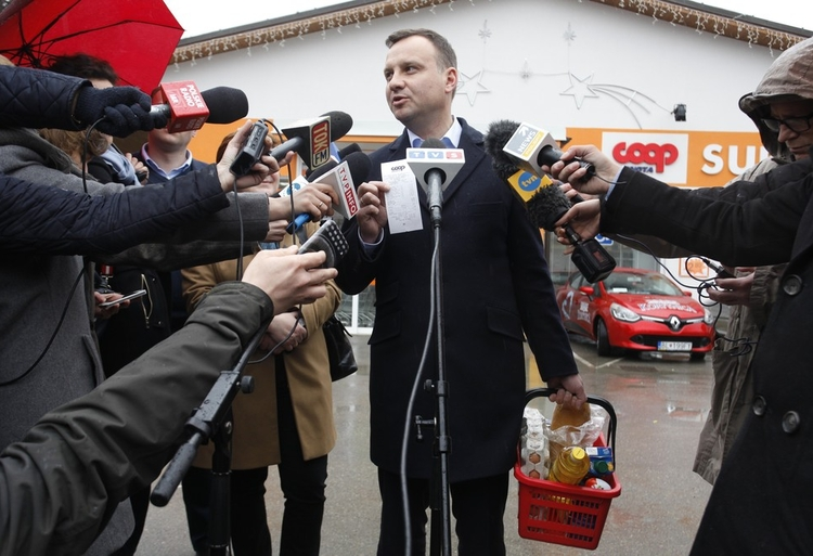 Prezydent Duda na zakupach     STEFAN MASZEWSKIREPORTER