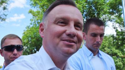 Andrzej Duda wygwizdany w Nowej Soli