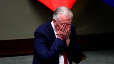 Jarosław Gowin opuścił siedzibę PIS