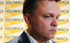 Szymon Hołownia składa polityczne deklaracje
