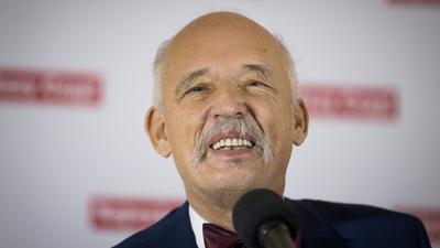 """Korwin-Mikke jednak nie spał w Sejmie? """"Ja myślałem"""""""