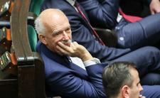 Janusz Korwin-Mikke zaliczył wpadkę. Przyciął komara w Sejmie