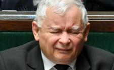 Jarosław Kaczyński załamany