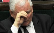 Słupek Jarosława Kaczyńskiego ciągle maleje