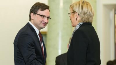 Julia Przyłębska nagrodzona za walkę z aborcją
