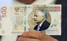 Kaczyński jeszcze cenniejszy. PiS chce jego twarzy na banknotach!