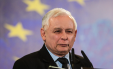 Jarosław Kaczyński podczas konwencji PiS w Poznaniu