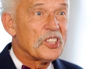Janusz Korwin-Mikke znowu w akcji - chyba uznał, że Konderacja uzyskała za wysoki wynik w wyborach