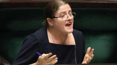 Krystyna Pawłowicz porównała opozycję do faszystów
