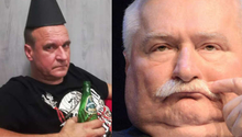 Były wokalista zespołu Piersi kontra były prezydent Polski