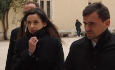 Marta Kaczyńska i jej drugi mąż Marcin Dubieniecki