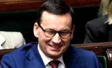 Premier Mateusz Morawiecki ogłasza... sukces w walce z epidemią
