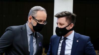 Michał Dworczyk zakaził Adama Niedzielskiego koronawirusem?
