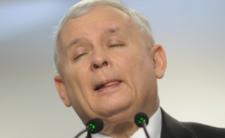 Jarosław Kaczyński wniebowzięty