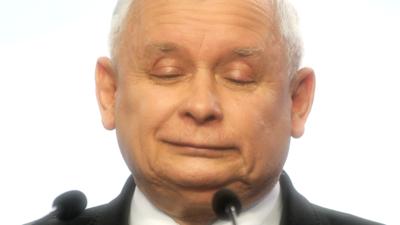 Jarosław Kaczyński zaciera rączki