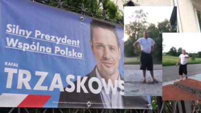 """Przeciwnik Trzaskowskiego w furii: """"to się spali ku....stwo"""""""