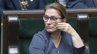 Beata Mazurek nie przebierała w słowach