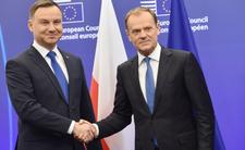 Sondaż zaufania do polityków - pojedynek Tuska i Dudy