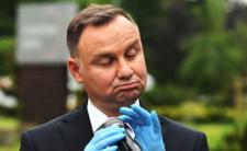 Andrzej Duda komentuje pomysł stanu nadzwyczajnego w Polsce
