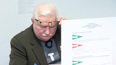 Wałęsa nie wytrzymał. Komentuje wybory... jak nikt inny
