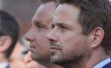 Rafał Trzaskowski i Andrzej Duda w ostatnich dniach kampanii prezydenckiej