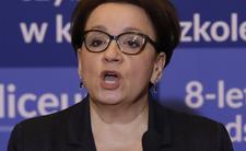Anna Zalewska zapowiada: w budżecie nie ma pieniędzy dla nauczycieli