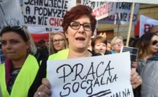 Pracownicy pomocy społecznej domagają się zmian systemowych